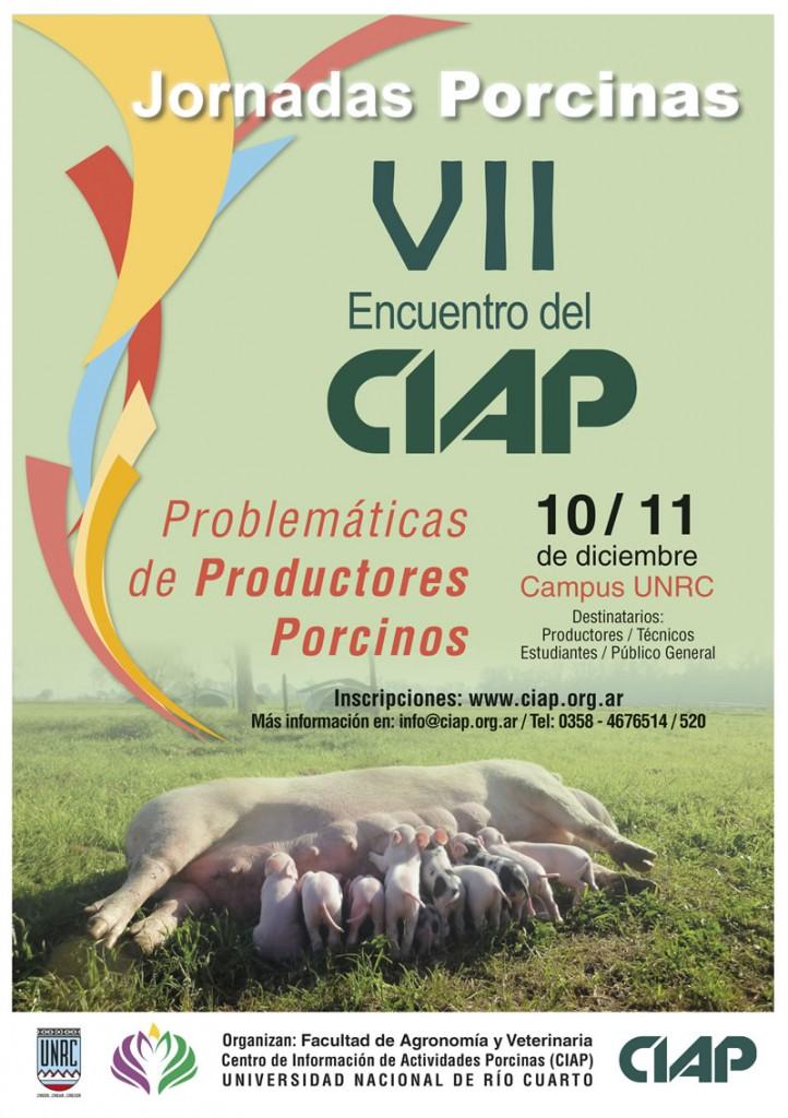 Cartel VII Encuentro del CIAP