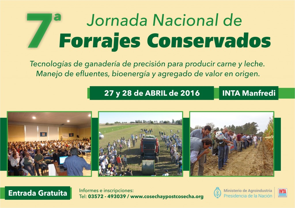 Volante Jornada Forrajes 2016