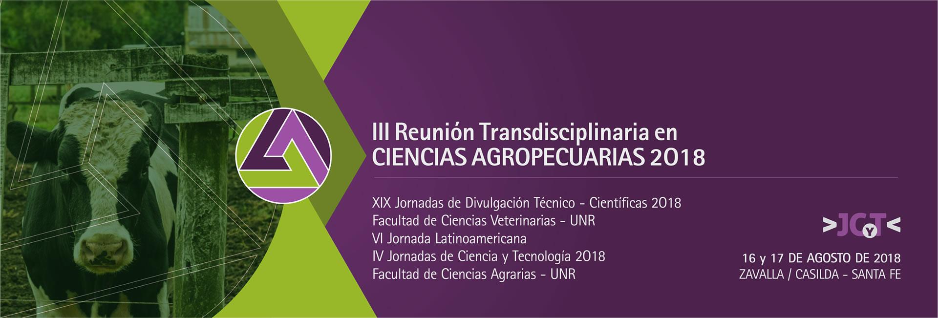 Jornada Ciencia y Técnica 2018 – Facultad de Ciencias Agrarias