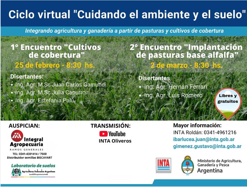 """Ciclo virtual """"Cuidando el ambiente y el suelo"""""""